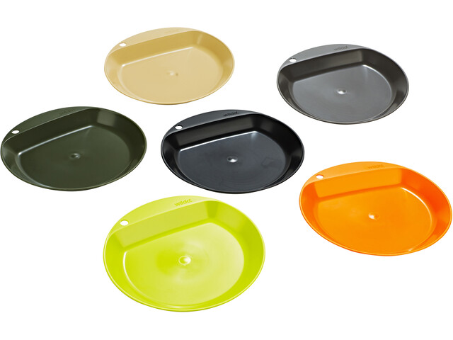 Wildo Camper Plate Flat Set, bont